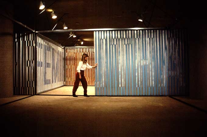 Vito Acconci, Room Dividers, 1982