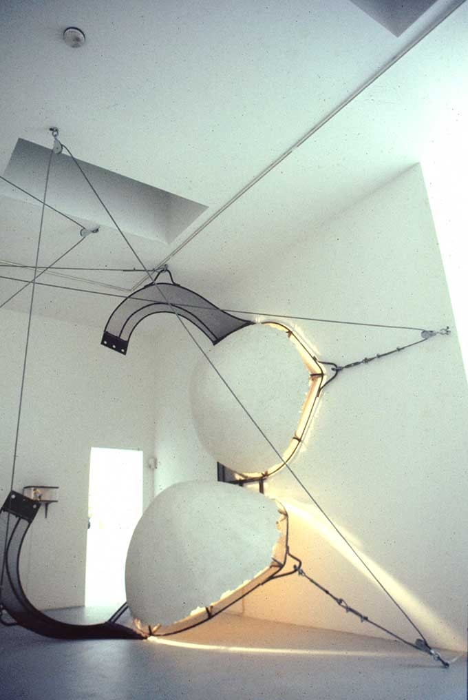 Vito Acconci, Adjustable Wall Bra, 1990