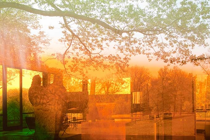 James Welling, Glass House