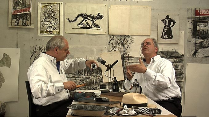 William Kentridge, Drawing Lesson 47