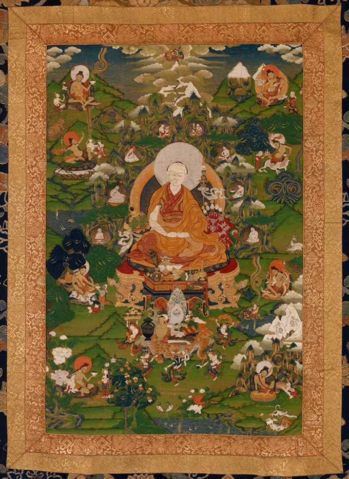 Seventh Dalai Lama and His Chakrasamvara Initiation