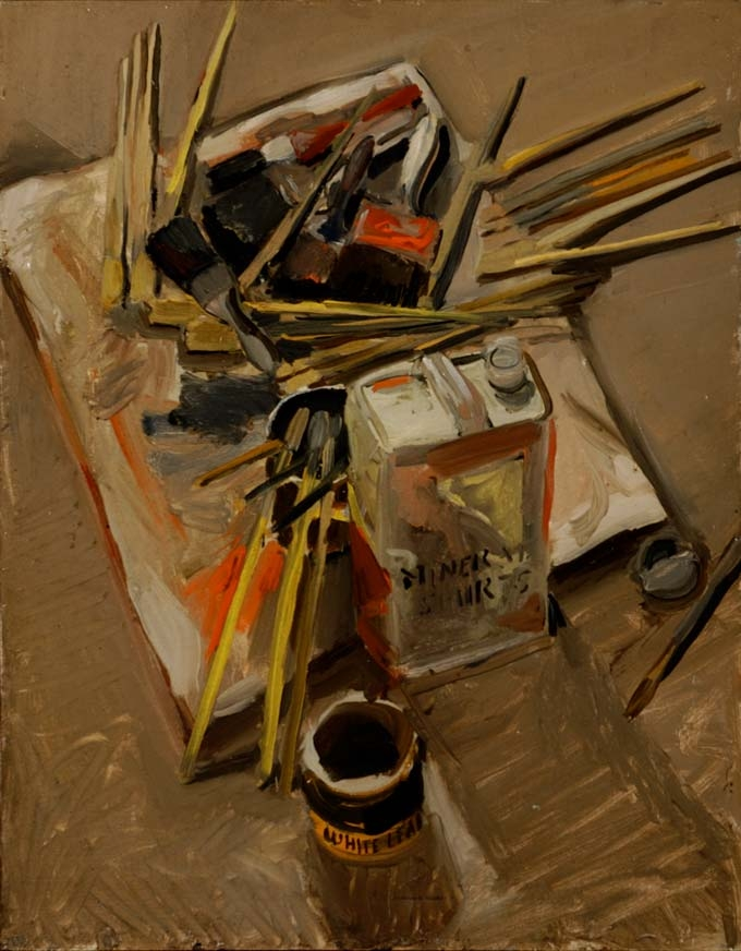 Fairfield Porter Raw, Painting Materials thumb