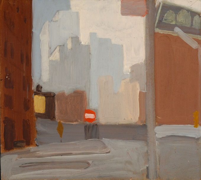 Fairfield Porter Raw,   City Streets