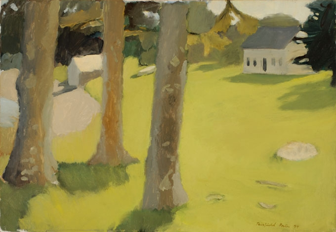 Fairfield Porter Raw,   Farmhouse
