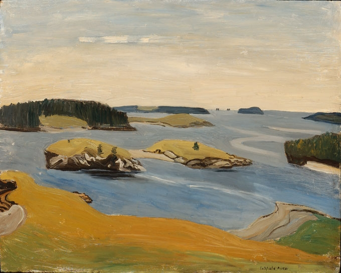 Fairfield Porter Raw,   Islands