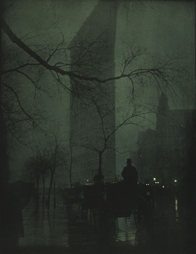Edward Steichen, The Flatiron, Evening