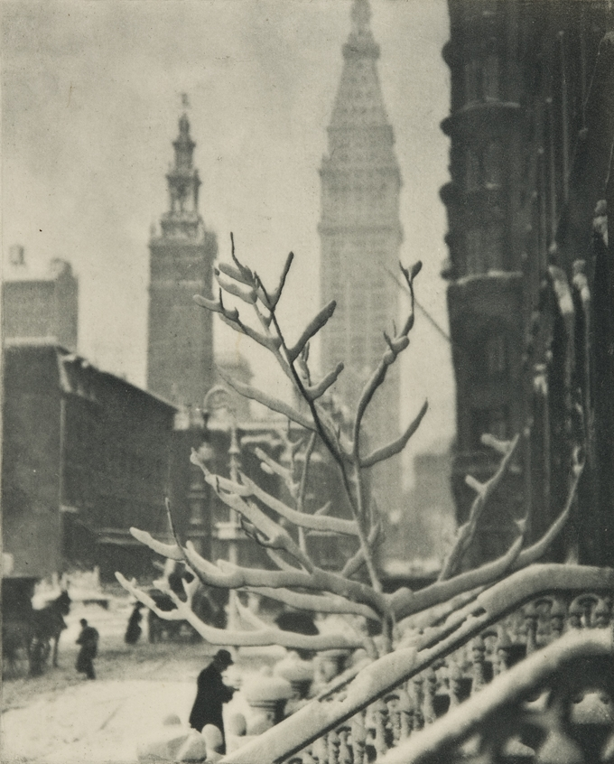 Alfred Stieglitz, Two Towers, New York