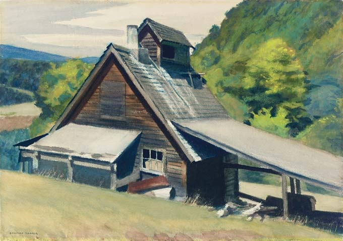 Edward Hopper, Vermont Sugar House