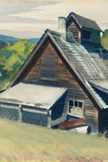 detail of Edward Hopper, Vermont Sugar House