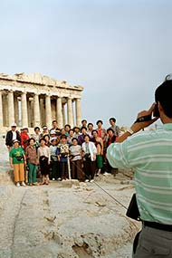 Martin Parr, GREECE, Acropolis, detail