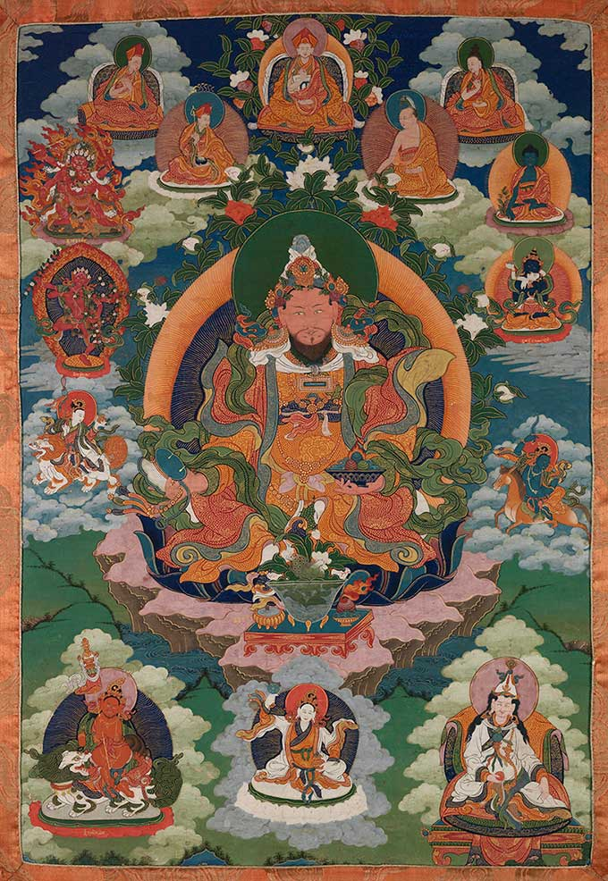 Loden Chogse, One of the Eight Manifestations of Padmasambhava