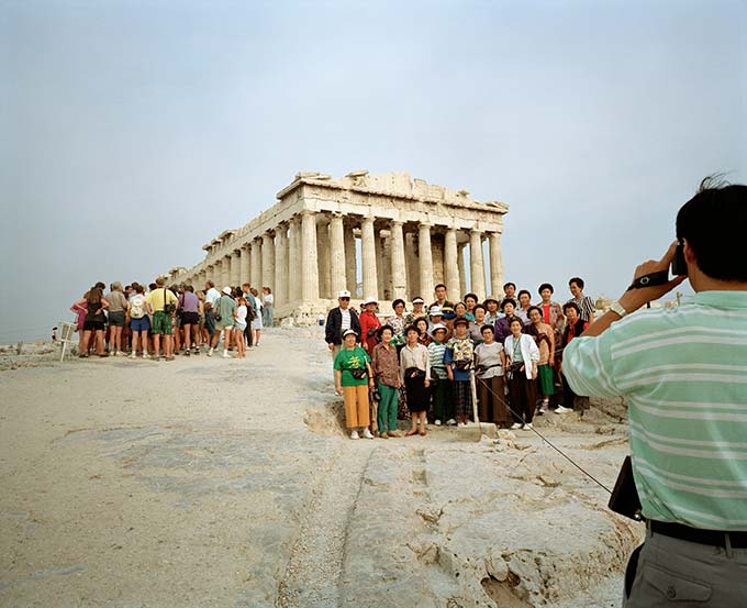 Martin Parr, GREECE, Athens, Acropolis from the series Small World
