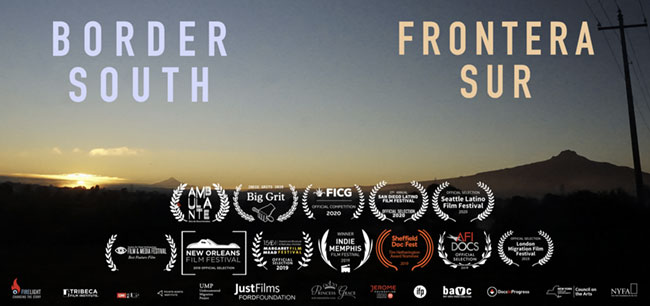 Border South poster cut with awards