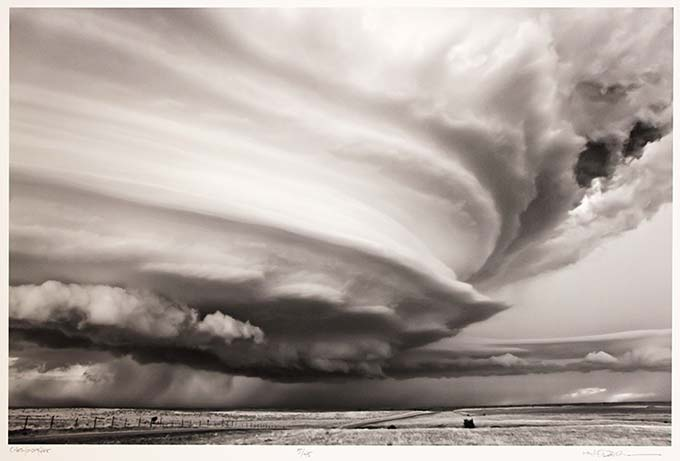Mitch Dobrowner, Chromosphere, Green Grass, South Dakota