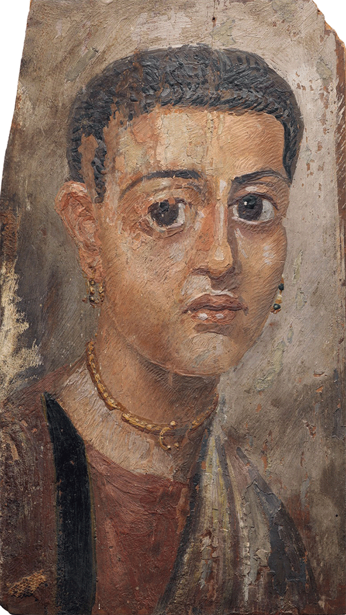 Fayum Portrait of a Woman, Egyptian, Hadrianic period