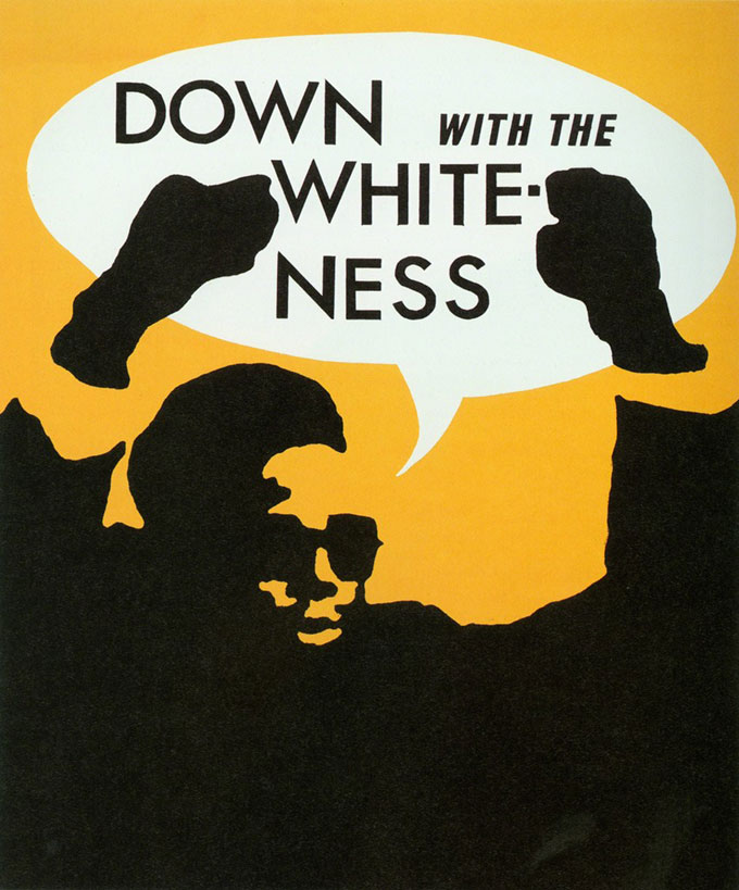 Rupert Garcia, Down with the Whiteness
