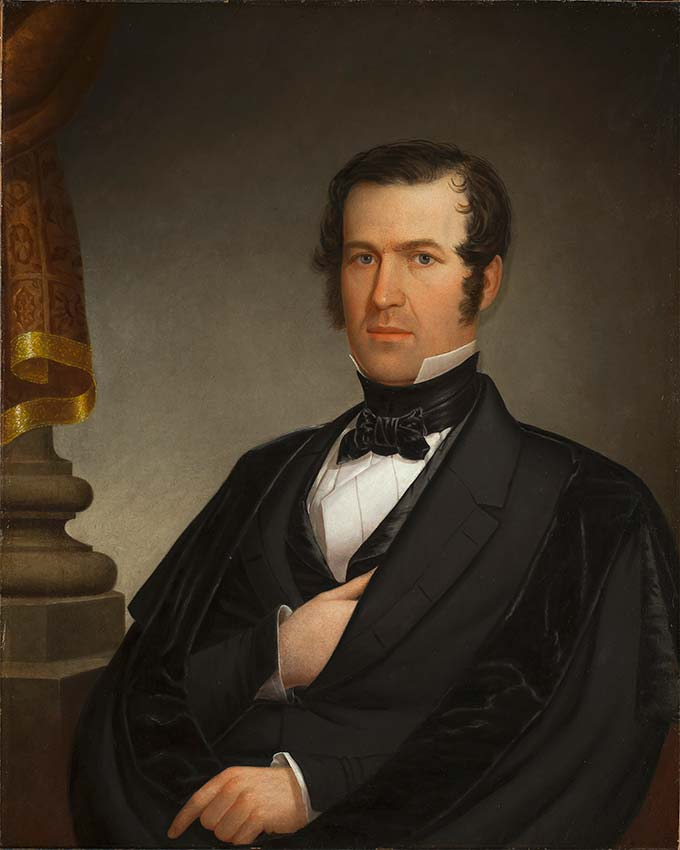 oil on canvas portrait of Henry Bliss Northup