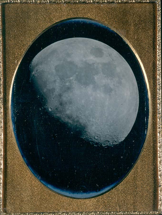 John Adams Whipple, The Moon, August 6, 1851