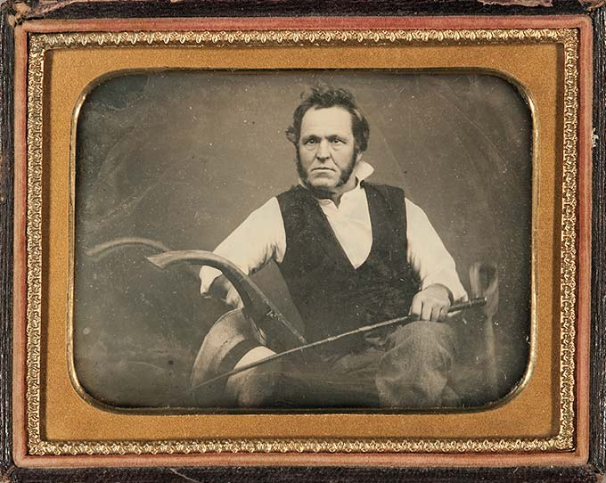 Occupational Daguerreotype of John Deere