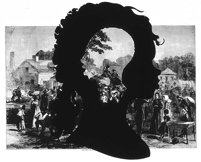 Kara Walker, Exodus of Confederates from Atlanta