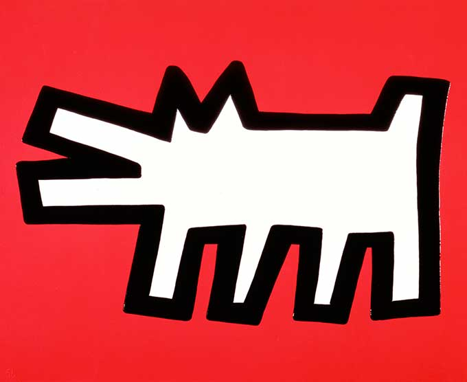Keith Haring, Icons, Dog
