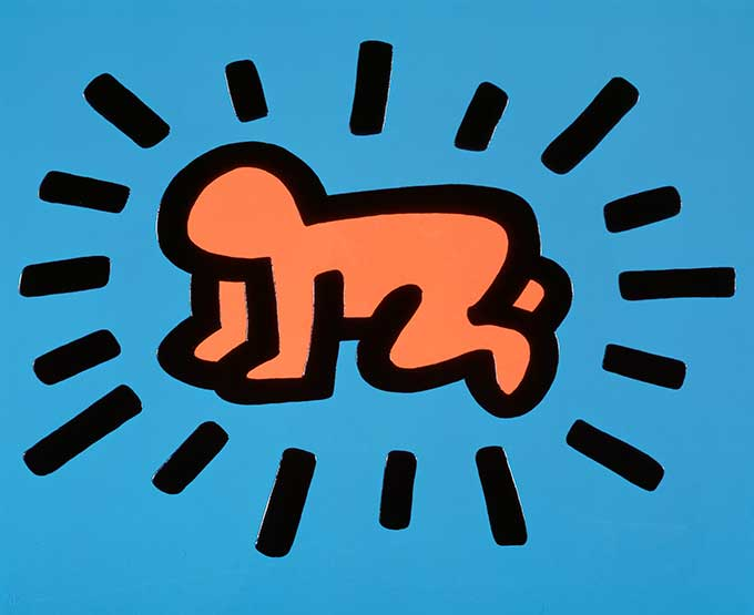 Keith Haring, Icons, Baby