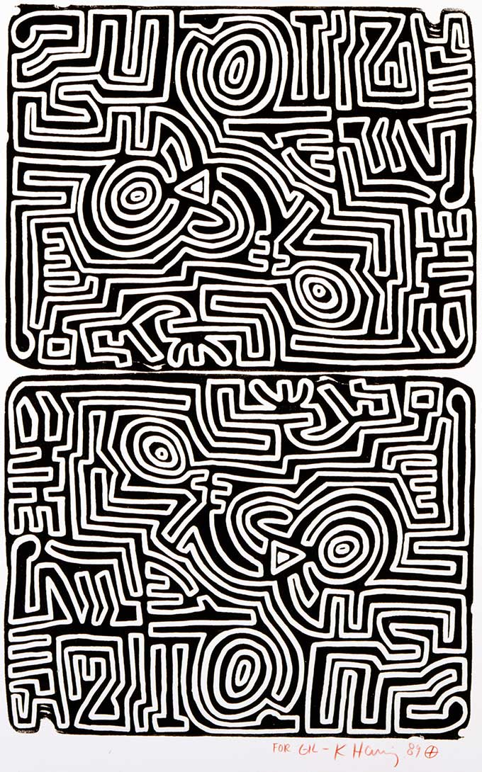 Keith Haring, The Labyrinth