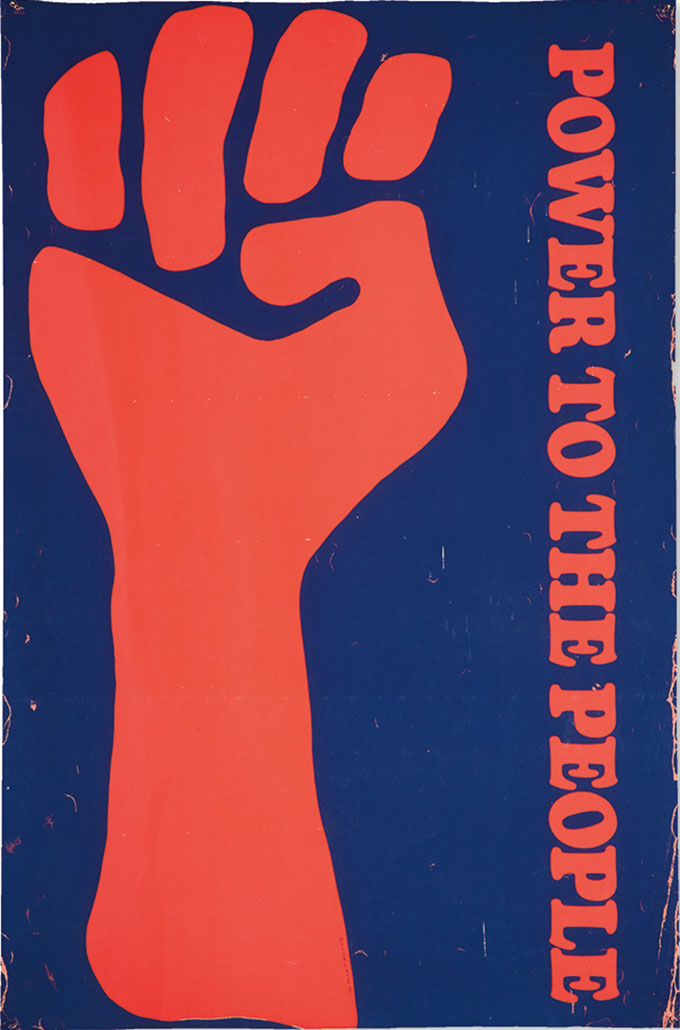 Black Panthers, Power to the People poster
