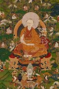 Seventh Dalai Lama and His Chakrasamvara Initiation, detail