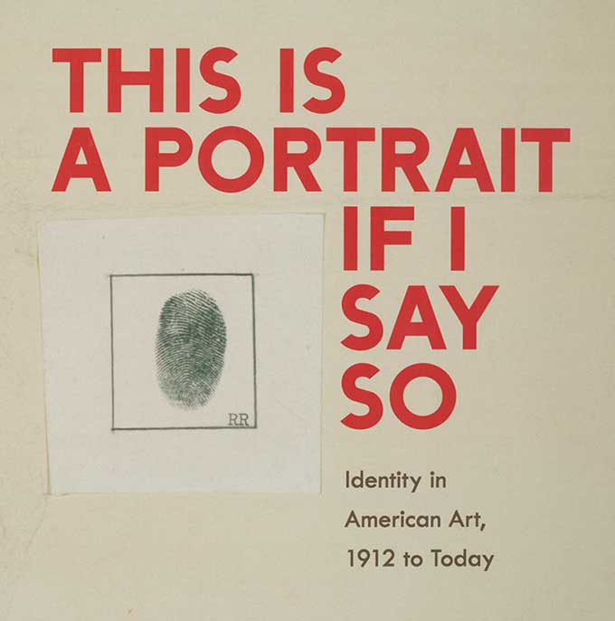 cover of This is a Portrait if I Say So